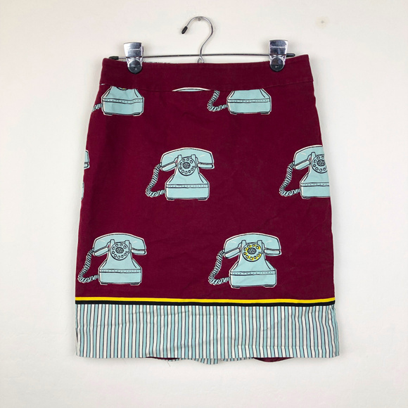 Anthropologie Dresses & Skirts - Anthropologie | Maeve Clementina Telephone Skirt
